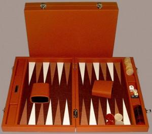 Backgammon benodigdheden