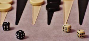 Doel van backgammon